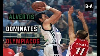 Alvertis DOMINATES in Clutch and Ends Olympiacos Hopes for a Championship | 2001 Finals Game 5