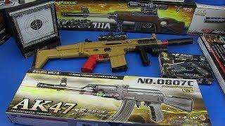 Box of Toys - Guns Toys ! NEW Military Gun Toys for Kids