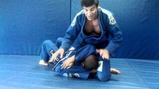 Jiu Jitsu Mounted Triangle From Side Position | Renzo Gracie Weston FL