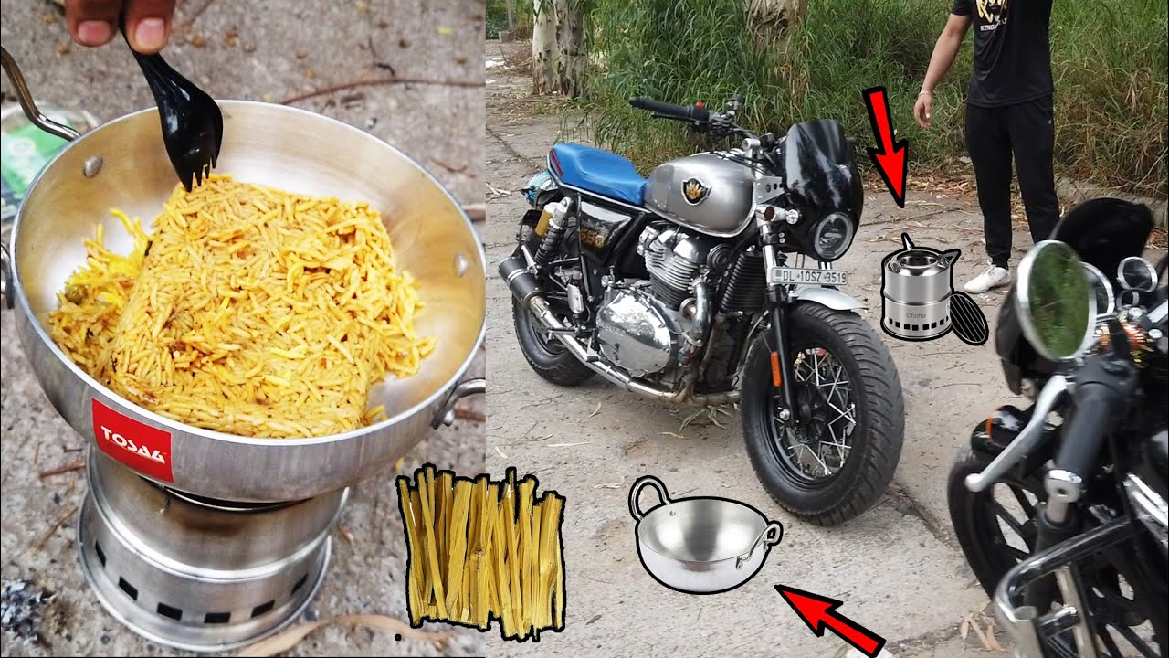 Cooking in jungle | wood stove can solve many things खुद बनाओ फिर मज़े से खाओ