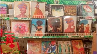 ✊???? $1 ETHNIC BLACK ART | DOLLAR TREE WALL DECOR | BEAUTIFY YOUR HOME & YOUR BEAUTY ROOM FOR C