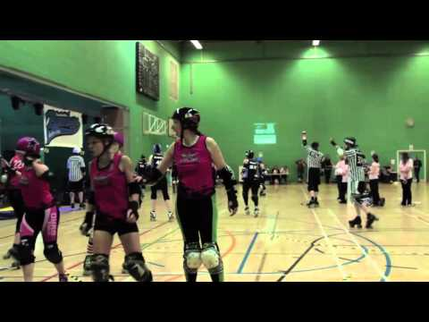 Lincolnshire Bombers Roller Girls vs Antwerp Rolle