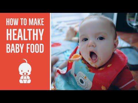 Easily Cook Natural Baby food for Seven Days of Meals