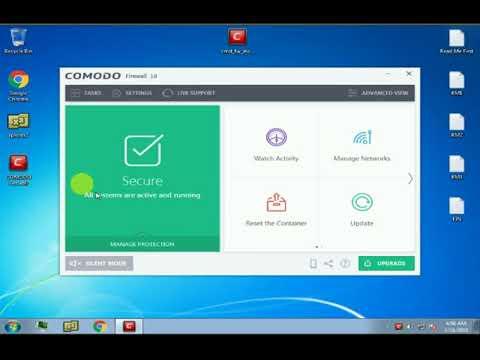 Comodo Firewall- The