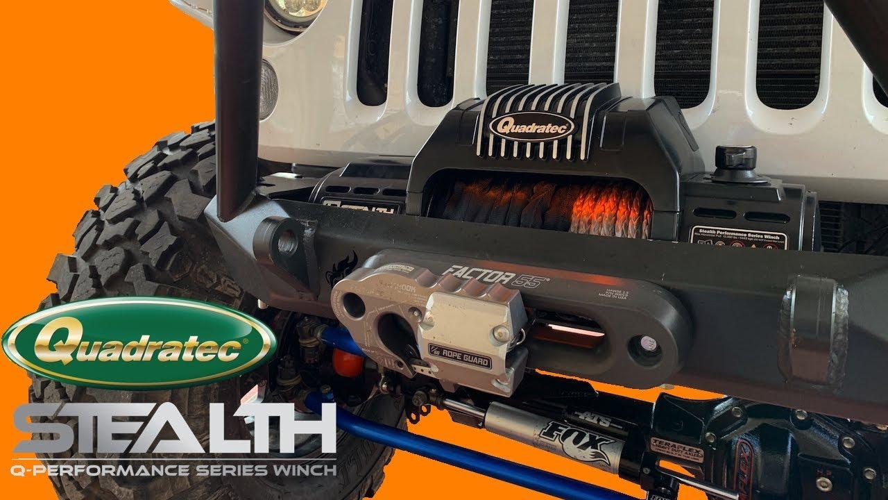 Jeep Mud Tires Quadratec >> Best Jeep Wrangler Winch You Decide Quadratec Q Performance Winch