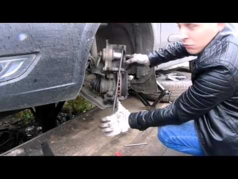 Nissan Almera classik замена передних колодок