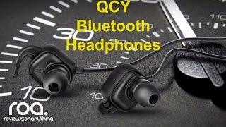 qCY Qy12 Bluetooth Headphones review