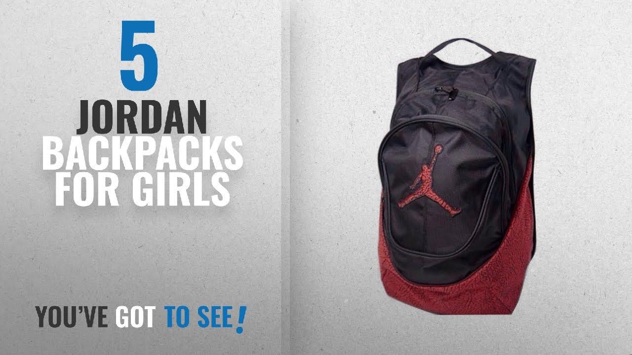 Jordan Backpacks For Girls  2018 Best Sellers   Nike Air Jordan ... 9e5ecfff95c39