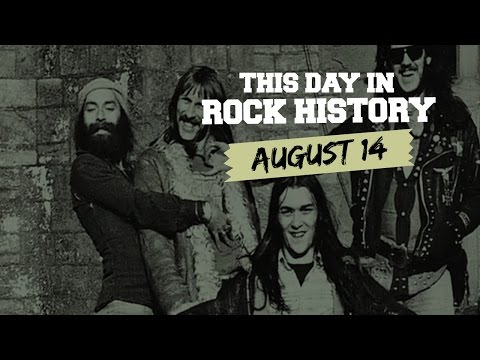 Neil Peart's First Rush Show, David Crosby Born - August 14 in Rock History