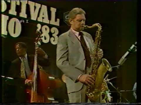 Zoot Sims at San Remo '83