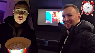 НОЧЬ в Кинотеатре ► Смотрим YouTube ► 24 hours challenge Multiplex