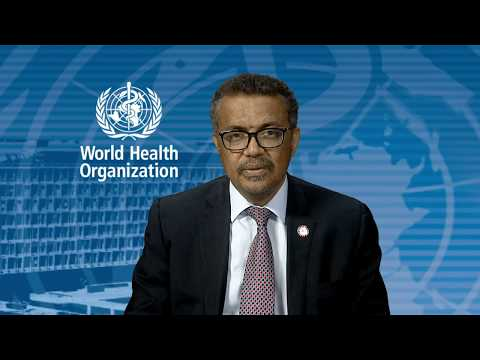 WHO Global Conference on NCDs: Statement by WHO Director-General Dr Tedros