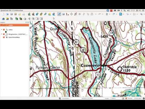 create and edit shape-files in QGIS
