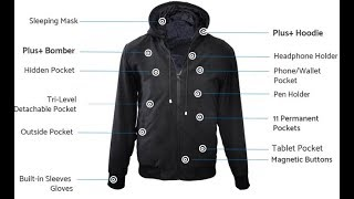 Top 4 Coolest Smart Jackets 2018 | Best Jackets for Travel, Winter, Outdoor
