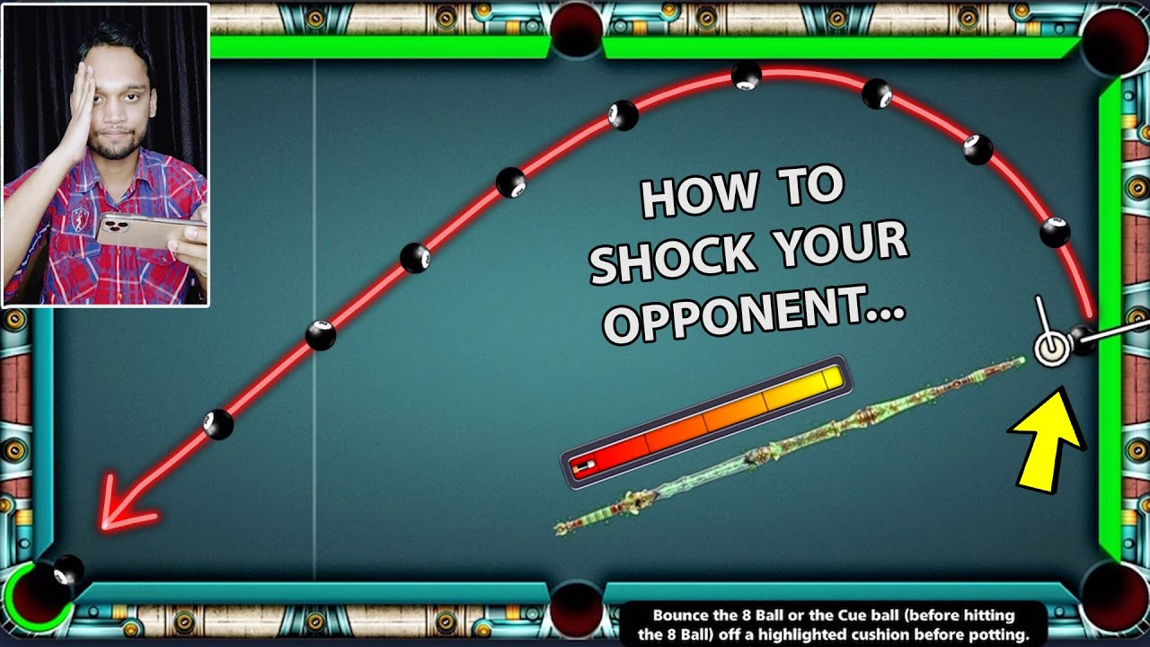 I WAS STUCK ON MY LAST BERLIN SHOT IN 8 BALL POOL, BUT JUST THEN...????