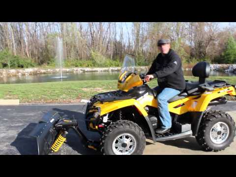 plow hook up for atv