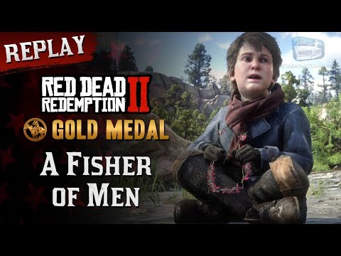 RDR2 PC - Mission #21 - A Fisher Of Men [Replay & Gold Medal]