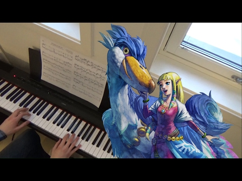 Romance in the Air (Skyward Sword) - Piano cover | Sheets & Midi