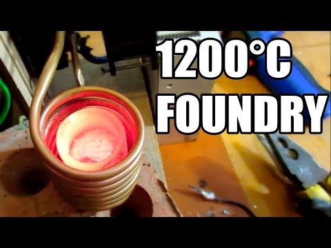 How to make foundry for casting metals