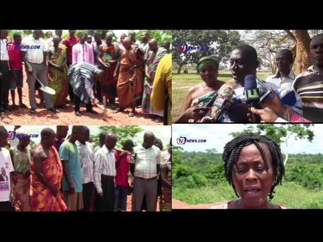 WE DEFECATE OPENLY, RESIDENTS TELL MANSO ADUBIA MP AS HE CONSTRUCTS WC TO CURB THE PROBLEM