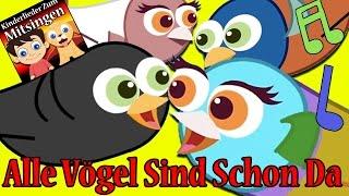 Alle Vögel sind schon da mit texten | Kinderlieder zum tanzen und mitsingen | Frühlingslied