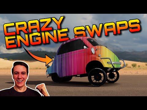 Best Isetta Engine Swaps   F1, Regera, Bugatti, FXXK + Elgato Giveaway   Forza Horizon 3 Dev Mods
