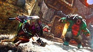 BIOMUTANT - Boss Fight Gameplay Demo (GamesCom 2018)