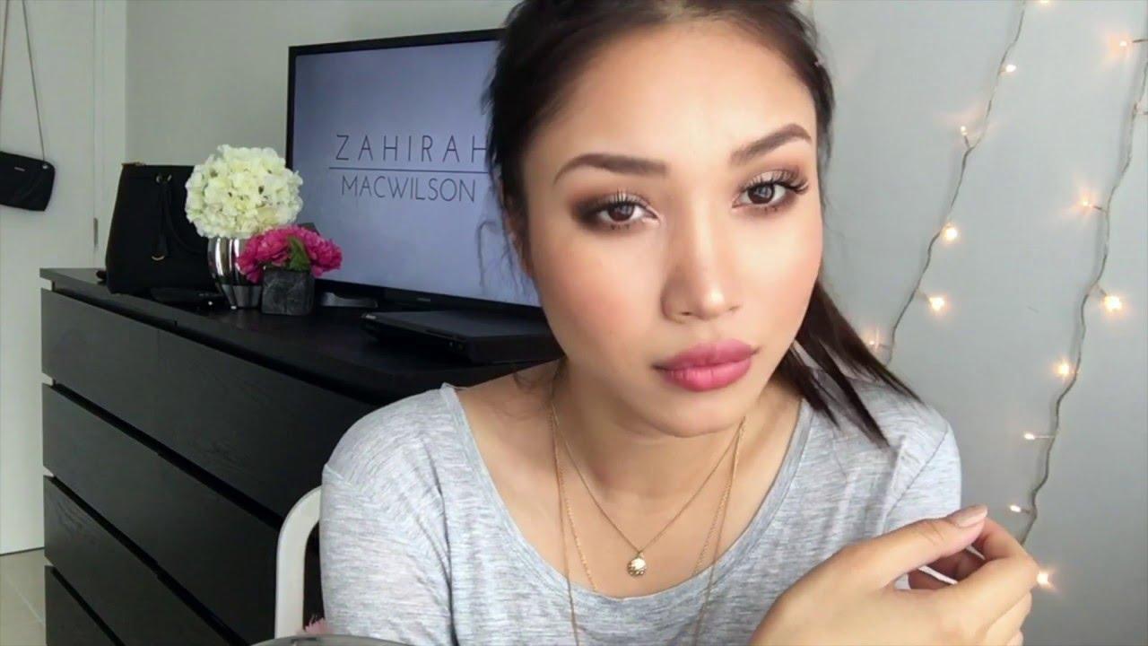Download Shimmery Smokey Brown Makeup | ZAHIRAH MACWILSON