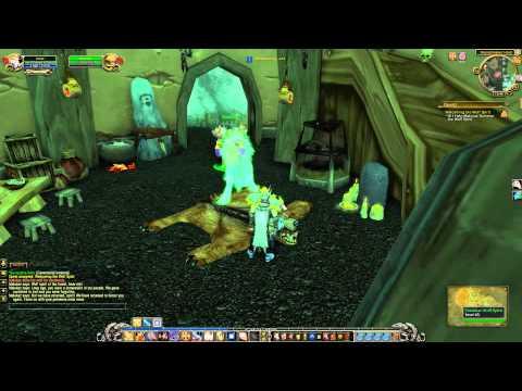 Welcoming The Wolf Spirit Quest Playthrough - Terokkar Forest