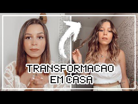 TRANSFORMEI O MEU CABELO EM CASA  Inês Rochinha