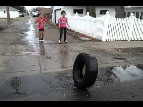 Ghetto kids playing ghetto soccer thumbnail