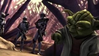 Download Video Star Wars The Clone Wars - Thire, Jek, Rys & Yoda vs Droids MP3 3GP MP4