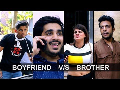 Desi Bhai Bhen Aur Boyfriend | Desi Bhai VS Boyfriend | RealSHIT