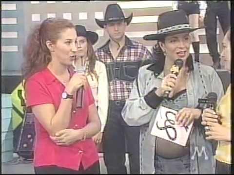 Alexia @ Sula Miranda Show (2nd) (Live in Brazil 1998) Gimme Love, Interview eamp; Uh La La La