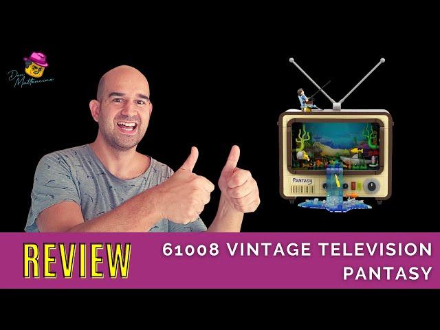 Mit diesem Vintage TV schaut man nicht in die Röhre! Review Pantasy Set 61008 Vintage Television