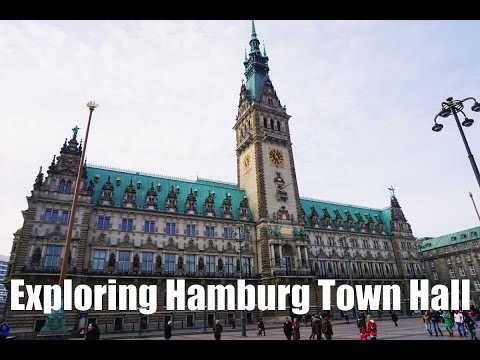 A tour of Hamburg Town Hall, Germany