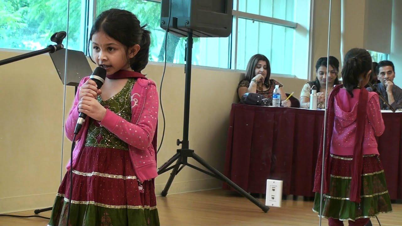 jiya singing nani teri morni at icc kids karaoke competition youtube