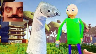 Hello Neighbor - My New Neighbor Sock Arts and Crafters Baldi Act 3 Gameplay Walkthrough