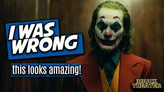 I was dead wrong about the JOKER teaser trailer
