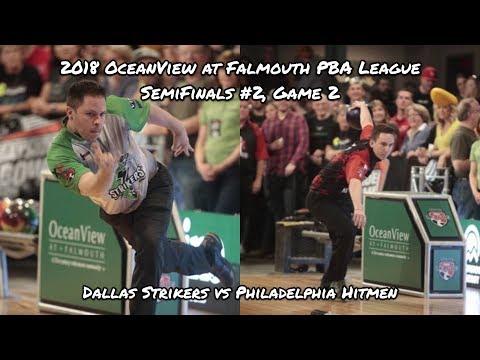2018 PBA League Semifinals #2, Game 2 – Dallas Strikers vs Philadelphia Hitmen