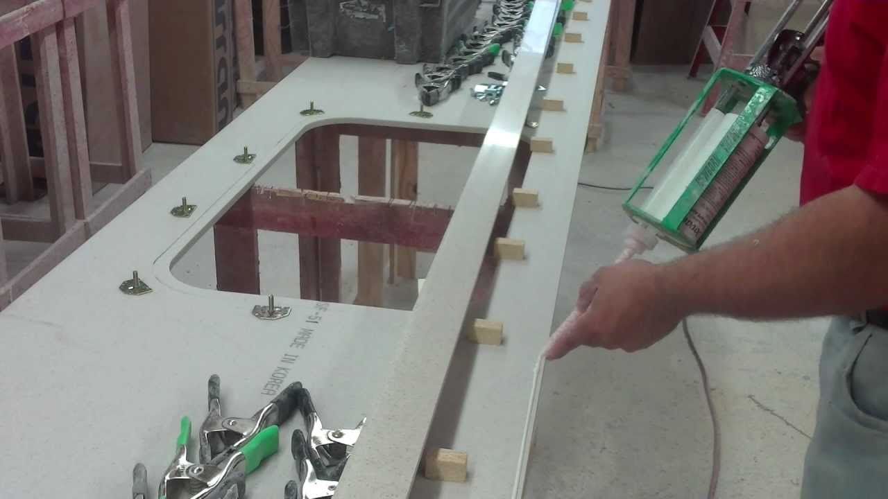 Installing Stainless Steel Countertops Understanding The Basics Of A Solid Surface Countertop With A Undermount Stainless Steel Sink