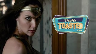JUSTICE LEAGUE COMIC CON 2017 TRAILER REACTION - Double Toasted Review