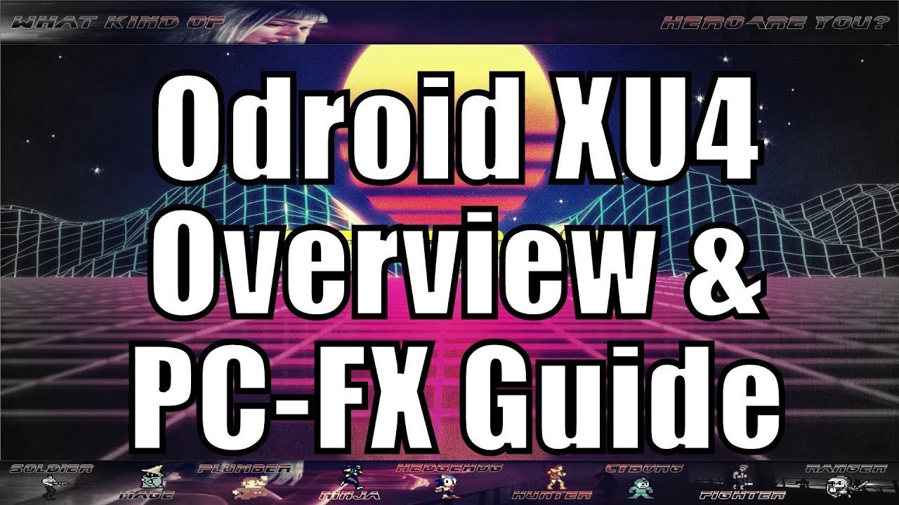 Odroid XU4 PiPiggies 128gb Extreme Raw PC-FX Guide by