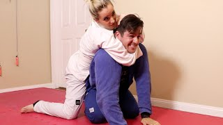 My Boyfriend Teaches Me Jiu Jitsu(Please subscribe to my channel and my vlog channel! I make new videos here every Wednesday and make vlogs during my majestical daily life., 2016-06-15T10:53:12.000Z)