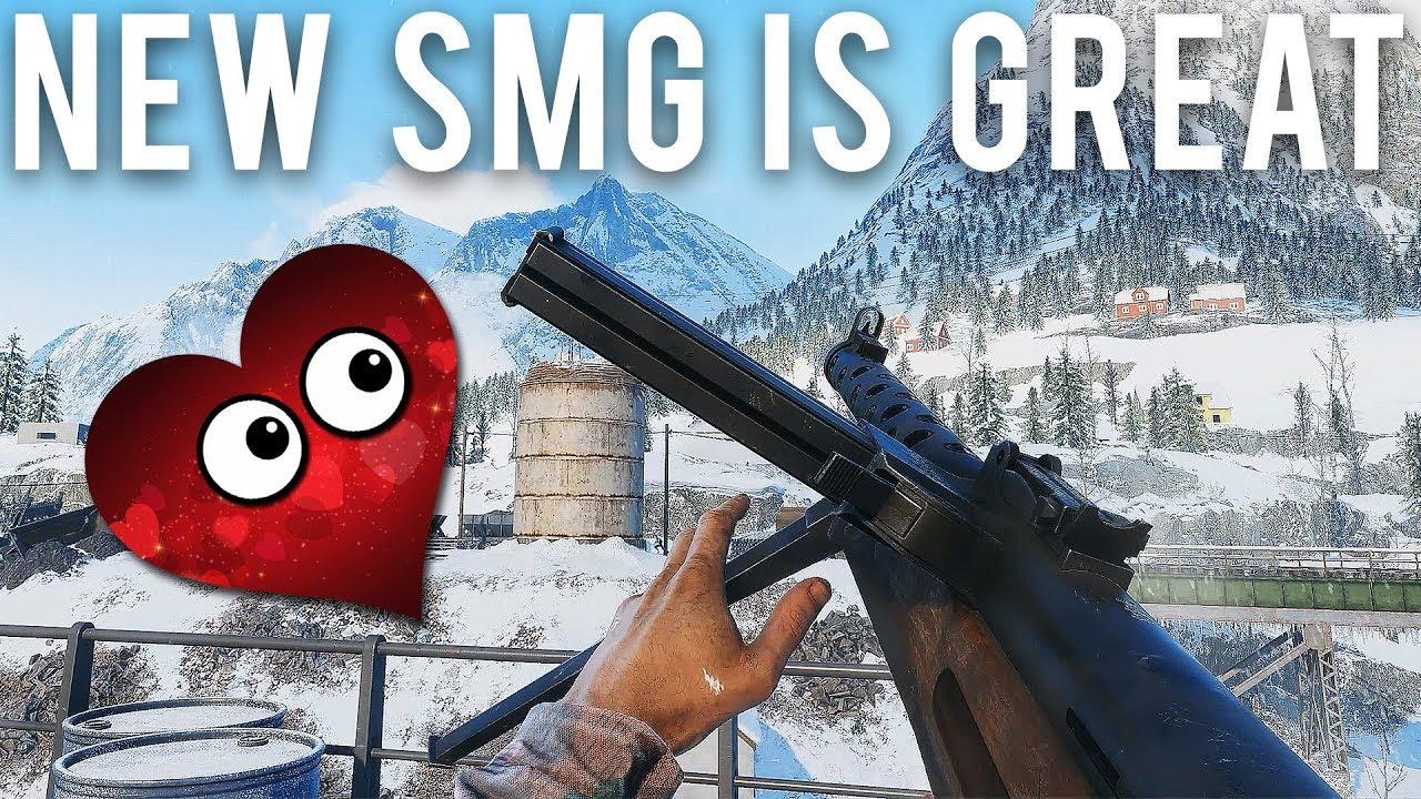 Battlefield 5 New SMG ist wirklich gut + video