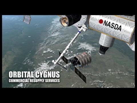 Orbital Cygnus - Orbiter Space Flight Simulator 2010