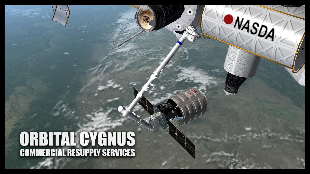 Orbital Cygnus Orbiter Space Flight Simulator 2010 YouTube