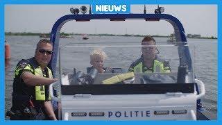 Waterpolitie: 'Veel kinderen in motorbootjes overtreden de regels'