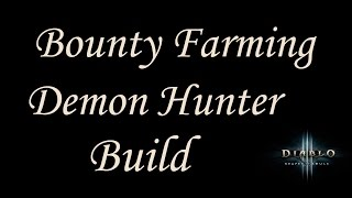 [2.4.2] Diablo 3 - Speed Bounty Farming Build (up to 430% movement speed!) - Demon Hunter Guide