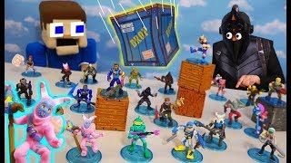 FORTNITE Battle Royale Collection Series 2 Moose Toys UNBOXING! (Plus S3 Vehicles & Playsets)